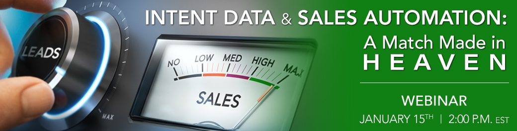 Using Intent Data to Fuel Your Lead Generation Programs